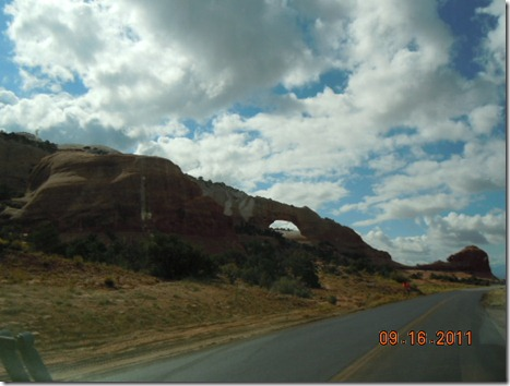 Wilson Arch on Rt. 191 south of Moab