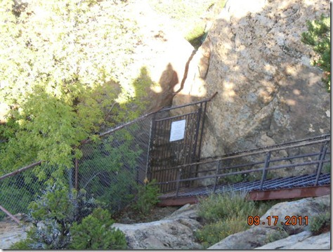 Stairs down to Cliff Palace