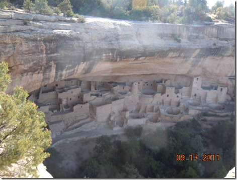 Cliff Palace from above