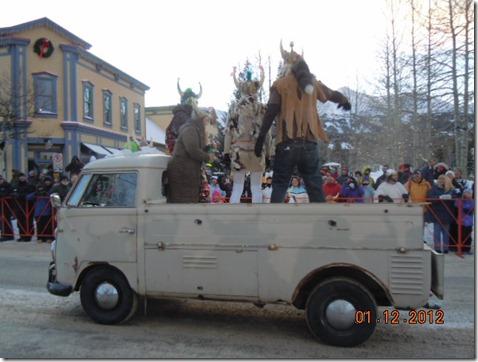 Ullr parade float
