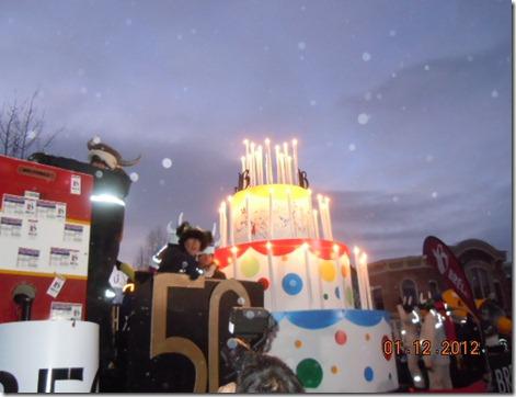 Breckenridge 50th birthday float