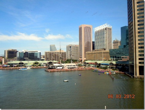 Second view of Baltimore Harbor!