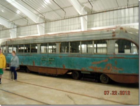 A DC transit trolley