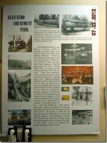 Glen Echo history.