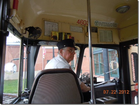 Our Trolley driver