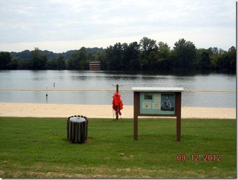 Swimming area Cumberland River