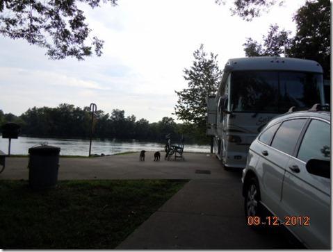 Site 26 @ Lock A on Cumberland River