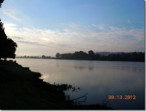 Dawn from Lock A site 26