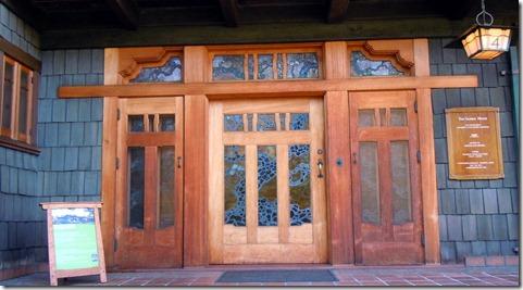 Gamble House door.