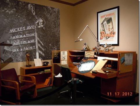 Disney work desk