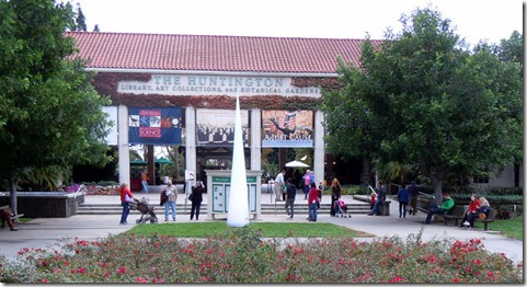 Huntington Library and Museum Entrance
