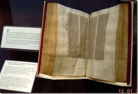 Early Middle Ages hand written book 1400's