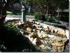 Water Fall in Bob Hope Garden