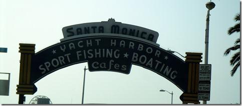 Entrance to Santa Monica Pier