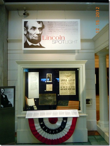 Information about Lincoln and his impact on Democracy and Judaism