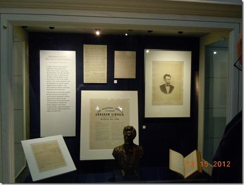 More Lincoln memorbelia