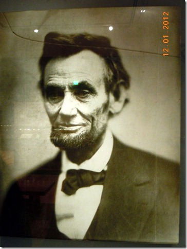 An original picture, 1865, of Abraham Lincoln