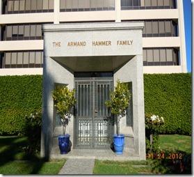 Armand Hammer Family Crypt