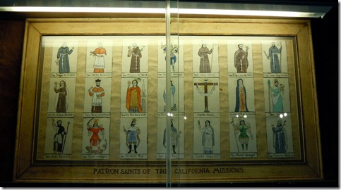 Patron Saints of the California Missions