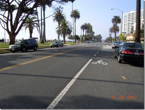 Santa Monica Ocean Blvd, north view