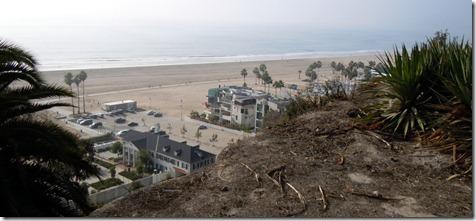 Beach view in Santa Monica