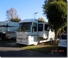 Our site at Balboa RV Park