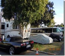 Balboa RV Park, site 120