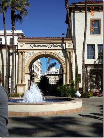 Famous Paramount Gate.