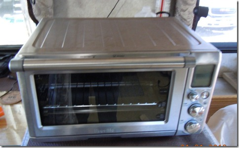 New Breville convection toaster oven