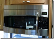 New microwave/convection oven