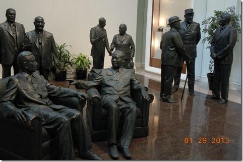 People that Nixon met during presidency