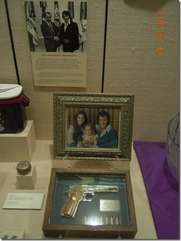 Elivis portrait given to Nixon along with the infamous pistol