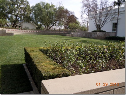 Pat Nixon Ampitheater, donated by Bob and Delores Hope