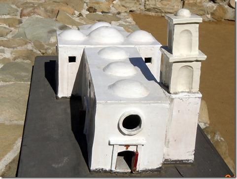 Replica of original Great Stone Church