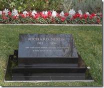 President Nixon's gravesite