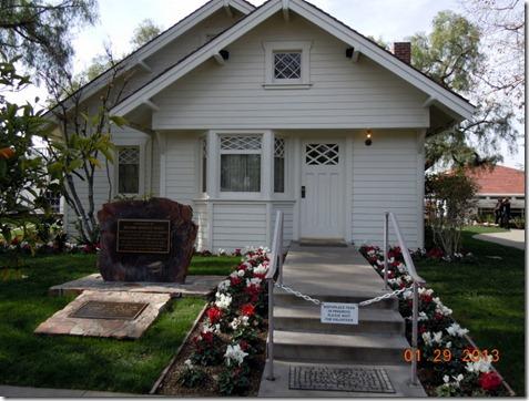 Nixon's childhood home