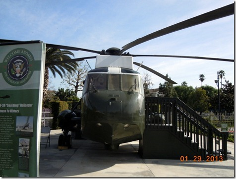 Nixon helicopter