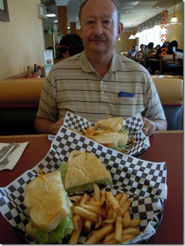 Tunafish salad sandwiches at Polly's Pies