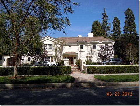 Next door, Lucy's house