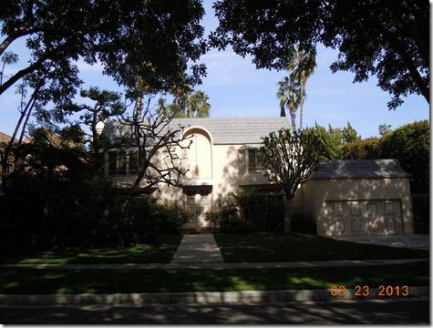 Walter Mathau's house