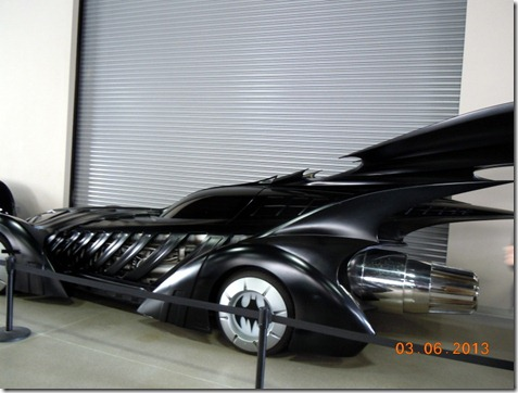 One of the batmobiles