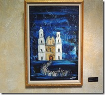 Mission San Xavier by DeGrazia