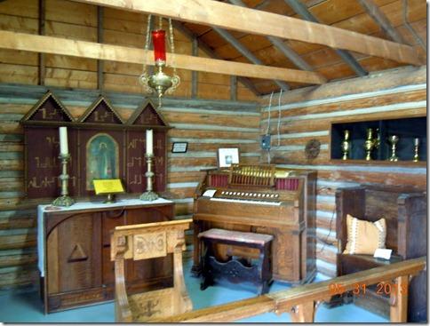 Chapel in Ft. MacLeod
