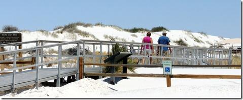 Boardwalk White Sands National Memorial Park