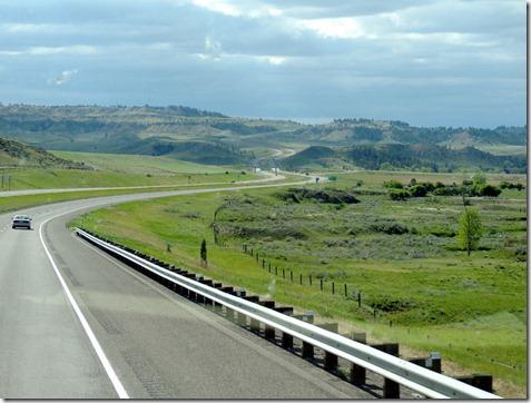 I-25 Colorado, north of Denver