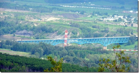 Peace River Bridge, Taylor BC
