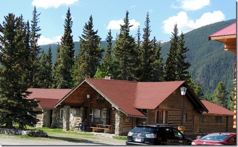 Old Muncho Lake Lodge Between Strawberry Flats and Liard River