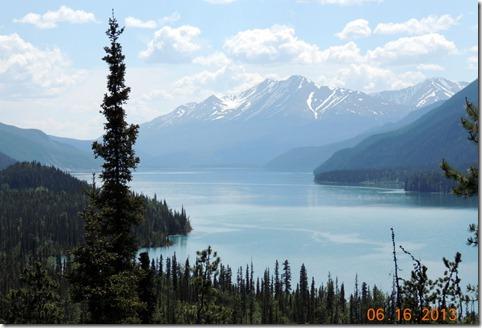 Muncho Lake viewpoint