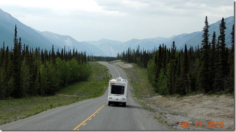 Between Muncho Lake and Liard River Hot Springs