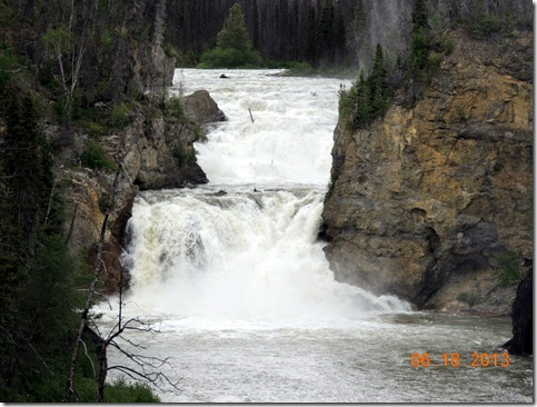 Whirlpool Canyon Waterfalls